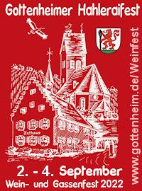 Plakat Gottenheimer Weinfest